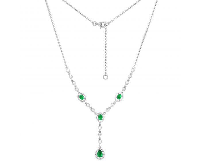 Кольє з смарагдами та діамантами Королева Вікторія