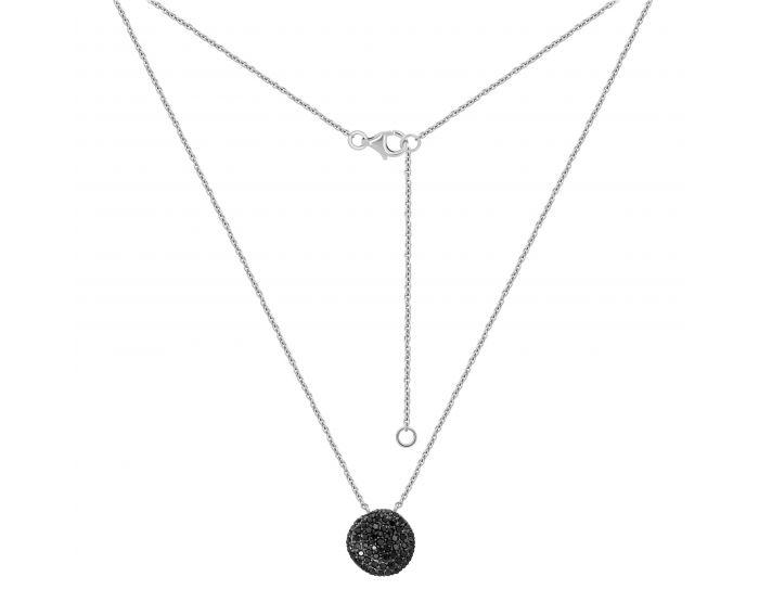 Колье с черными бриллиантами