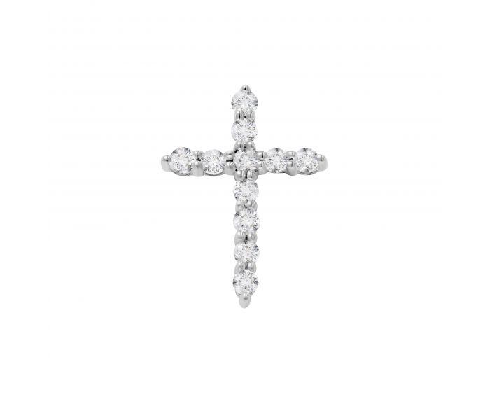 Підвіс-хрест діамантовий