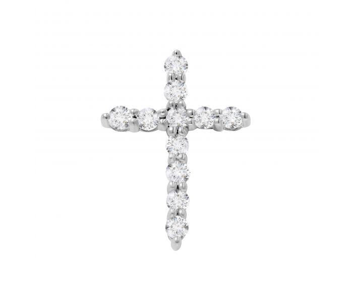 Крест бриллиантовый