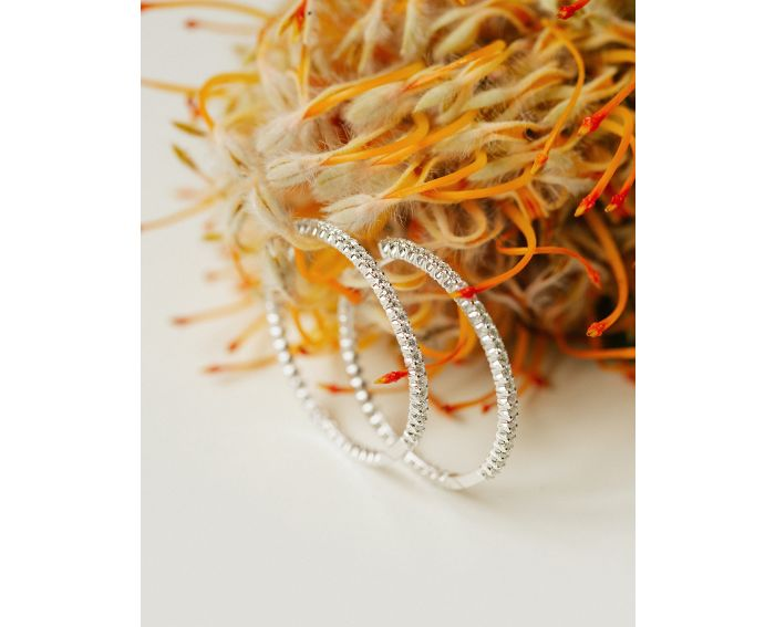 Сережки з діамантами Адажио