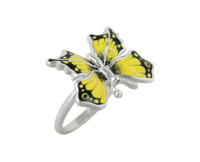 Каблучка з метеликом