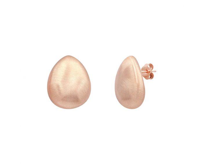 Серьги серебряные ZARINA розовый родий