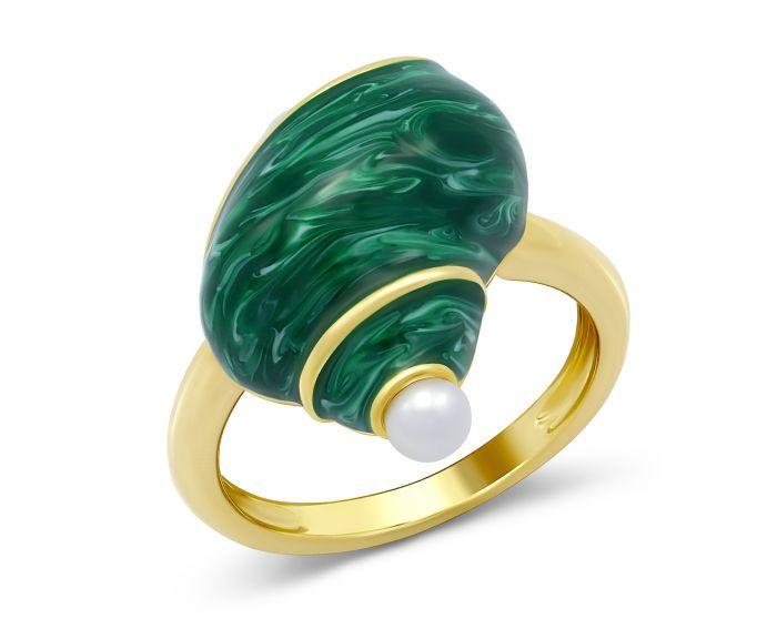 Кольцо Мраморная улитка