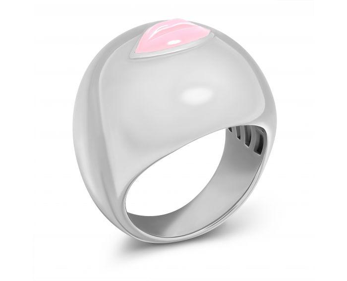 Каблучка Цілунок світло-рожевий глянець