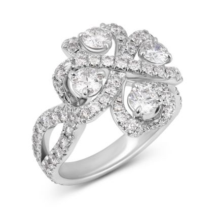 Каблучка з діамантами Imperial