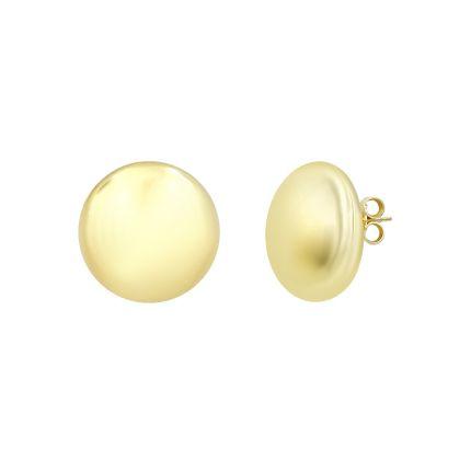Сережки срібні ZARINA жовтий родій