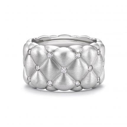 Каблучка з діамантами Treillage Bandeau