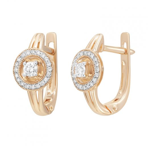 Сережки з діамантами Етель