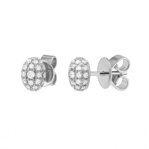 Сережки з діамантами Лія