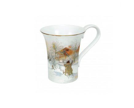 Чашка Бpитта на санях Goebel
