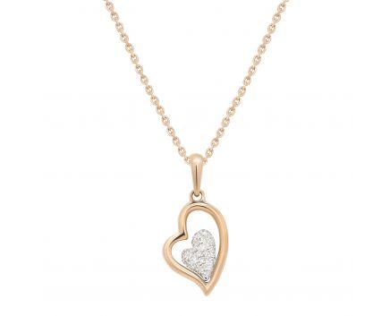 Підвіс Діамантове серце