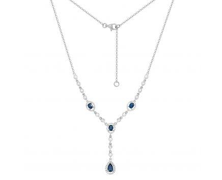 Кольє з діамантами та сапфірами Королева Вікторія