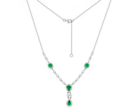 Кольє з смарагдами та діамантами Єлизавета
