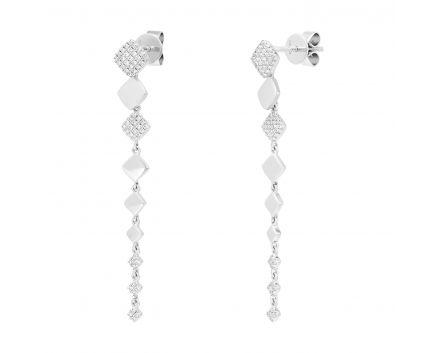Сережки з діамантами Граційність