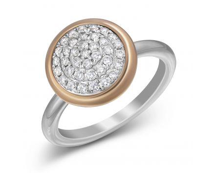 Каблучка з діамантами