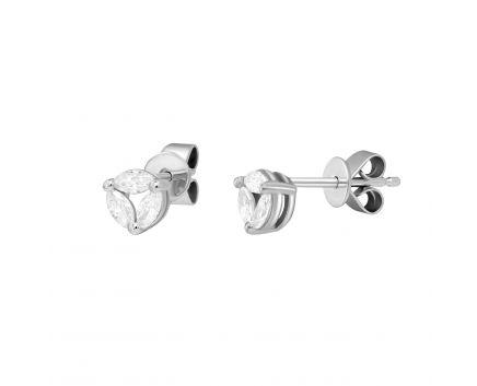 Сережки з діамантами Келлі