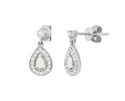 Сережки з діамантами Джуна