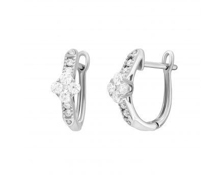 Сережки з діамантами Сюзанна
