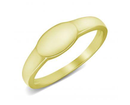 Каблучка з жовтого золота