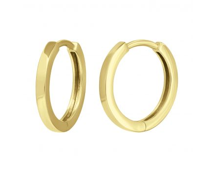 Сережки з жовтого золота Аліна