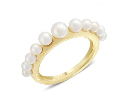Кольцо Марина желтый родий