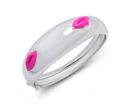 Браслет Цілунок рожевий