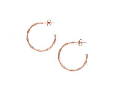 Сережки срібні ZARINA рожевий родій