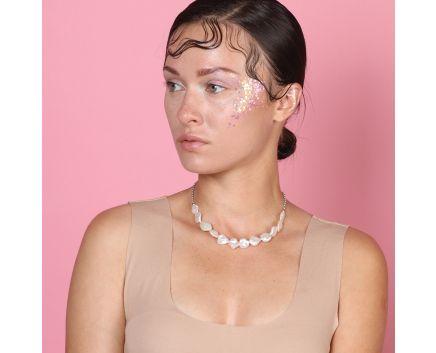 Чокер з барочними перлами та регулюючою довжиною