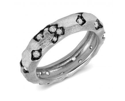 Кольцо серебряное ZARINA